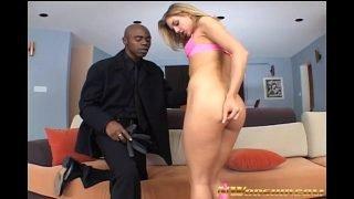 skinny sexy teen loves big black cocks interracial fuck